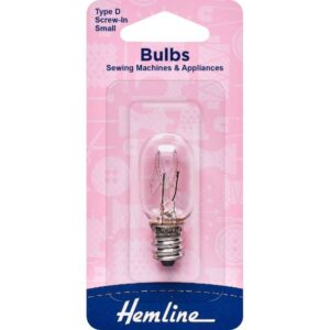 Sewing Machine Bulb - Type D Screw-In - Small