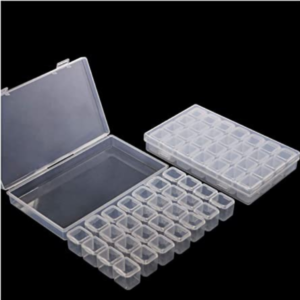 Storage Container for Diamond Dotz - 28 Grid Clear