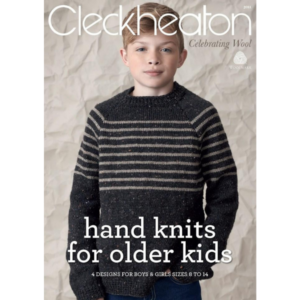 Hand Knits For Older Kits - Knitting Pattern Book