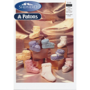 Bootees Shoes & Socks - Knitting Pattern Leaflet